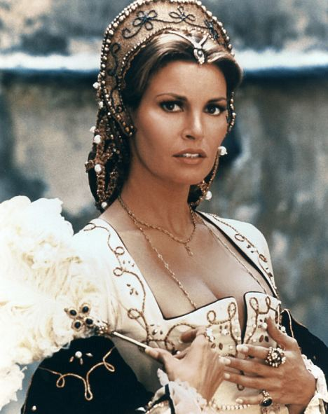True story? Raquel Welch in The Three Musketeers (1973)