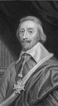 Cardinal Richelieu: determined to secure a Catholic succession