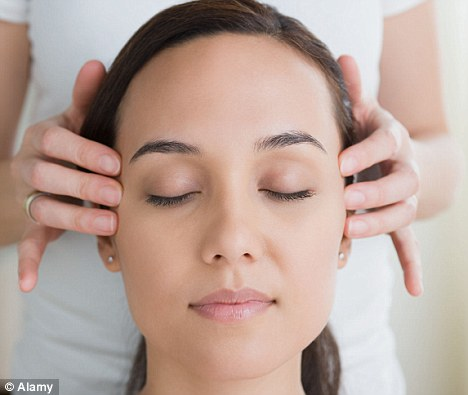 Massaging the figures: Officials spent £1,673 with a firm called stress angels