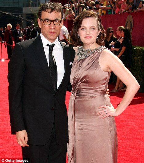 Former love: Elisabeth and Saturday Night Live's Fred Armisen divorced last year after just eight months of marriage