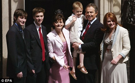 The Blairs: Former PM hopes to use his family to shift copies of his autobiography on the other side of the Atlantic