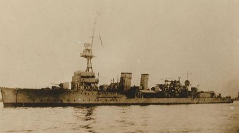 Advanced vessel: The final resting places of sunk ships HMS Cassandra, above, HMS Myrtle and HMS Gentian have been discovered after 90 years