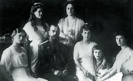 The Russian royal family in 1914