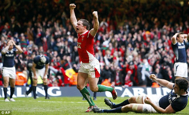 Inspirational: If Wales are to triumph in the Six Nations for the first time since their Grand Slam in 2008, they will require the sort of magic displayed by Shane Williams against Scotland