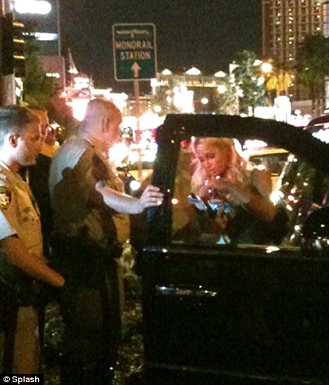 Troubled heiress Paris Hilton