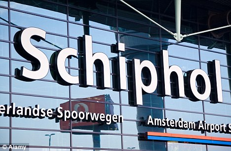 Unusual: The Dutchwoman at the BA counter at Schiphol was all smiles, and called the representative of the UK Border Agency - based at the airport
