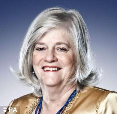 Ann Widdecombe, one of the new contestants for this year's Strictly Come Dancing