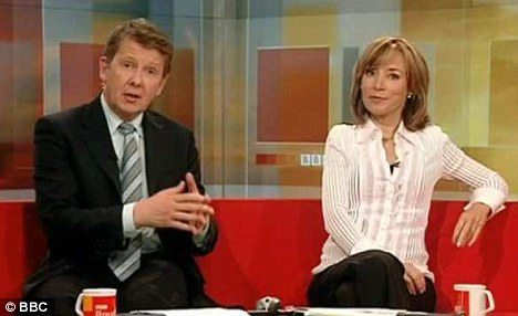 Leading the breakfast war: Sian Williams and Bill Turnbull on BBC Breakfast is topping the ratings
