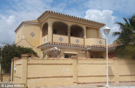 Extortion: The Hunters' Spanish villa, which has been hit by a stealth tax