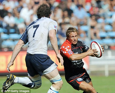 French resistance: Jonny Wilkinson has enjoyed a new lease of life at Toulon