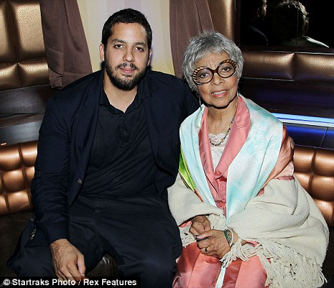 David Blaine and Ruby Dee at the launch of TV show Iconoclasts