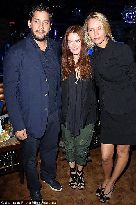 David Blaine, Julianne Moore, Uma Thurman