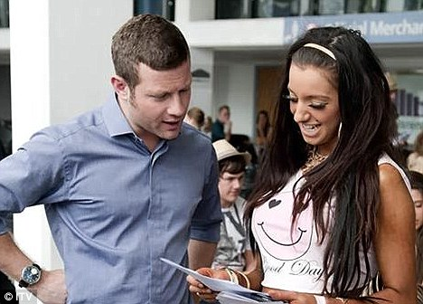 Dermot O'Leary and Chloe Mafia