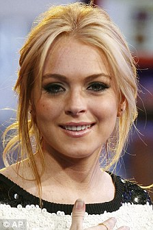 Terrifying: Lohan in 2007, the year the pictures were said to have been taken