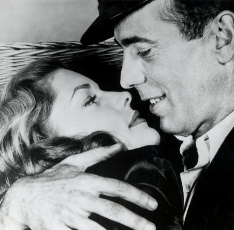 The love of his life: Humphrey Bogart was besotted with wife Lauren Bacall, pictured here together in To Have and Have Not (1944)