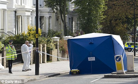 The 20-year-old Singaporean woman was thought to have been struck outside the Royal Free Hospital in Belsize Park, before being dragged three quarters of a mile down Haverstock Hill. A forensics tent has been erected over her body