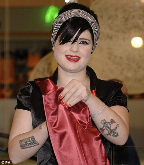Etchings: Kelly showing off her tattooed arms