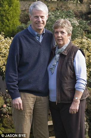 Boost: John Stevenson, who was diagnosed with Alzheimer's in 2000, with wife Mary