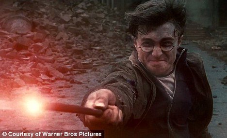 Normal format: Daniel Radcliffe in a scene from  Harry Potter and The Deathly Hallows, which will not now be shown in 3D