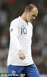 Tactical retreat: Rooney backs off