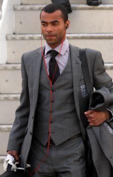 England's Ashley Cole