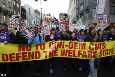 Firefighters and Tube workers in London are already planning to go on strike in the coming weeks in their own separate disputes