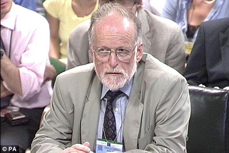 Doubts: At least nine doctors have written an open letter saying they are unsure that Dr David Kelly could have died in the way Lord Hutton described