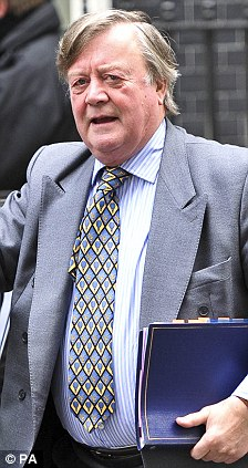 Transparent: Mr Clarke has ordered the release of the papers for public scrutiny after Lord Hutton had previously tried to hide the files