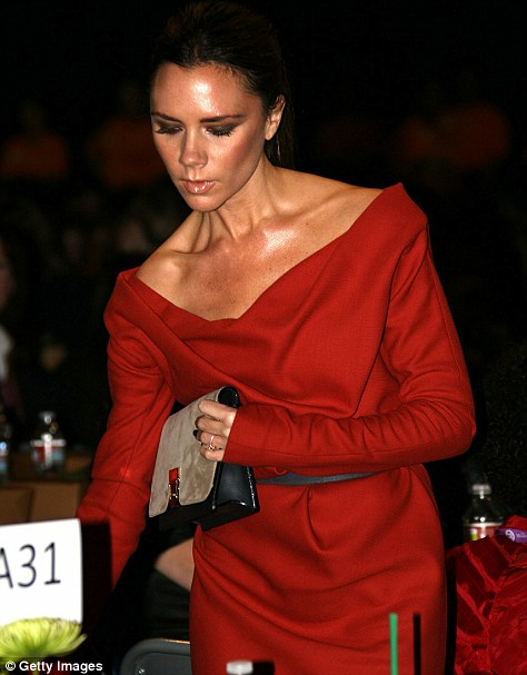 Victoria Beckham  was amongst the guests at the Long Beach Convention Center