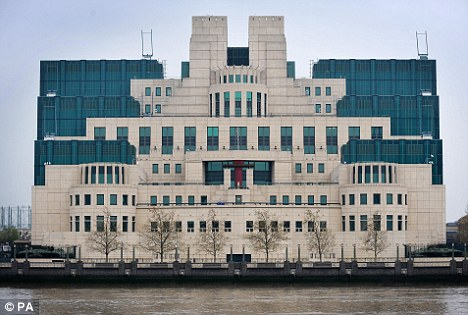 MI6 headquarters in London: Officers operate with the 'utmost integrity' and would have 'nothing whatsoever' to do with torture, Sir John insisted