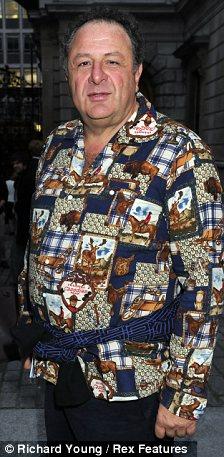 Snub: Fashion designer Tom Ford told billionaire Jean Pigozzi (pictured) that 'fat men like him' were not welcome in his Madison Avenue store