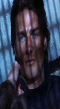 Unmasked: A scene from Mission: Impossible 2, where a terrorist wears a mask to impersonate Tom Cruise's character Ethan Hunt