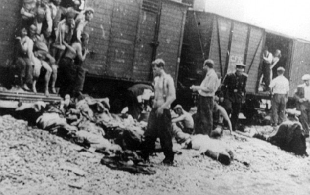 Romania was an ally of Germany during World War II and replicated many of its anti-Semitic policies. Here Jews from the city of Iasi are crammed on to cattle trucks during a pogrom in 1943