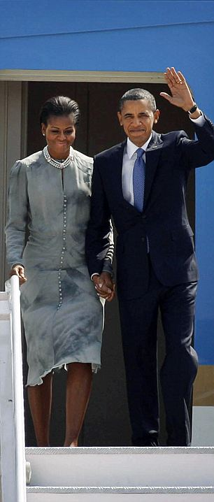 Michelle Obama Mumbai