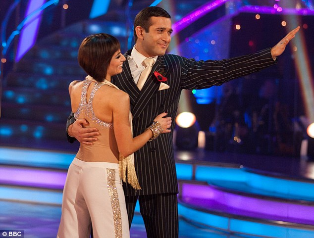 Farewell: Jimi Mistry and Flavia Cacace became the latest couple to be eliminated from Strictly Come Dancing