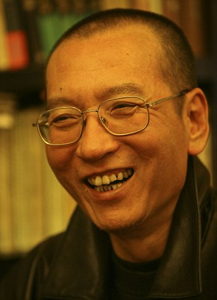 Jailed Chinese pro-democracy activist Liu Xiaobo