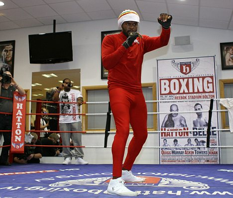 Boxing clever: Audley Harrison believes he is bringing a whole new fighter to the ring
