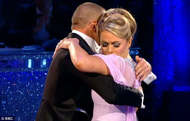 Elegant and emotional: Patsy Kensit and Robin Windsor got one of five standing ovations on the show for their Viennese Waltz