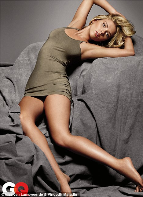 Slinky: Sexy Scarlett Johansson looks incredible in the new GQ cover shoot