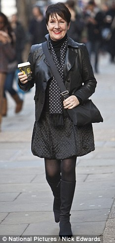 Miriam O'Reilly, 52, arriving at the Central London Tribunal building in London