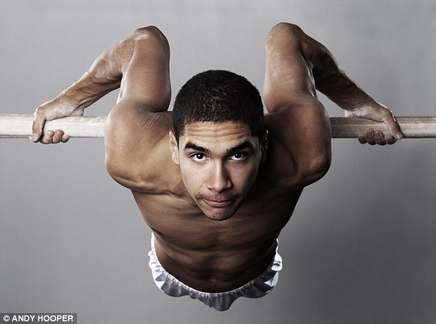 In focus: Gymnast Louis Smith is looking forward to London 2012 and insists: 'I've got gold in me'