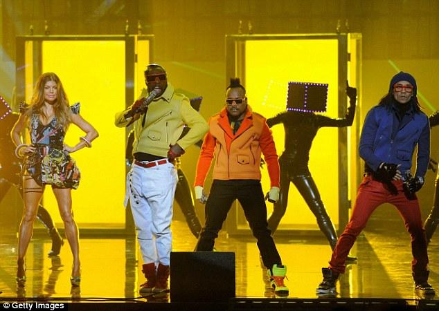 Winners: Fergie's group the Black Eyed Peas won favorite pop/rock band