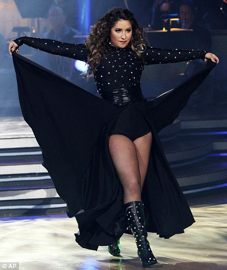 """Bristol Palin performs during the celebrity dance competition series, """"Dancing with the Stars"""