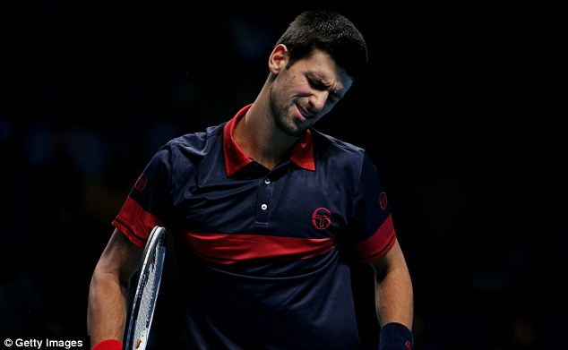 Serb and volley: Djokovic was no match for the Swiss master in London