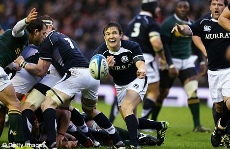High times: Victory over South Africa last week was one of the best Scotland wins in recent history