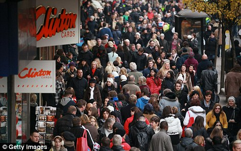 Shops: Retailers have lowered prices to compensate for a difficult economic year and the impending VAT rise
