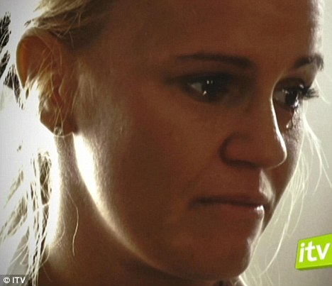Tears: Kerry Katona confessed that she almost died from the amount of drugs she was taking in her new documentary Coming Clean about her battle to get sober