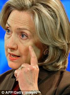 Secret spy mission: U.S. Secretary of State Hillary Clinton