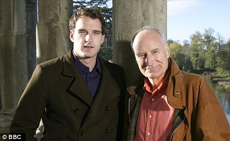 Family business: Dan Snow with his father Peter in their BBC show Whose Britain is It Anyway?