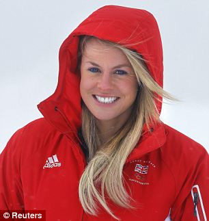 No 1: Alcott has competed at the last three Winter Olympics